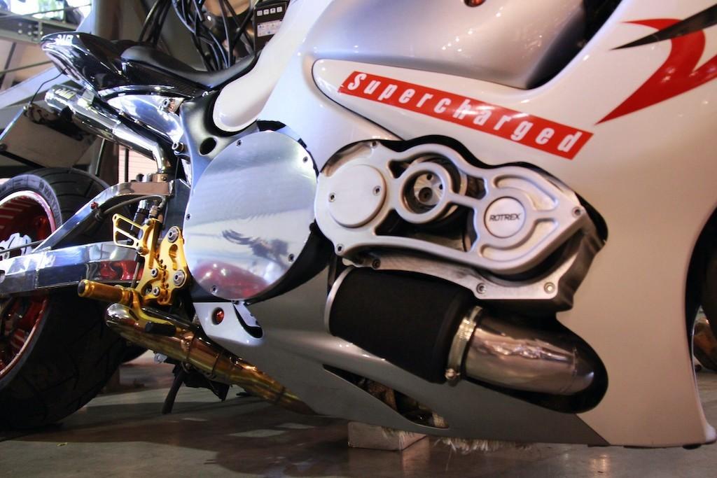 SUZUKI GSX-R1340 SUPERCHARGED