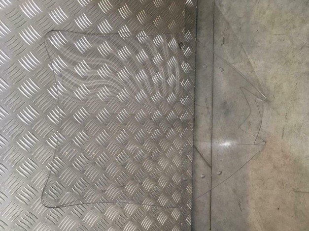 Kawasaki GTR1400 Hoog windscherm 100% NIEUW!