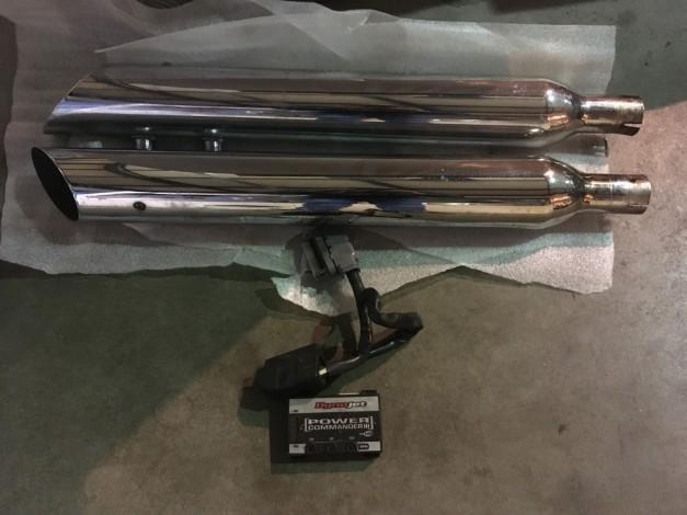 Harley Davidson ROADKING 1450 OPEN UITLATEN