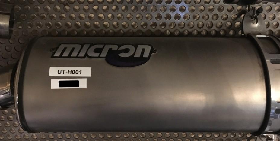 HONDA CBR900 FIREBLADE MICRON UITLAAT