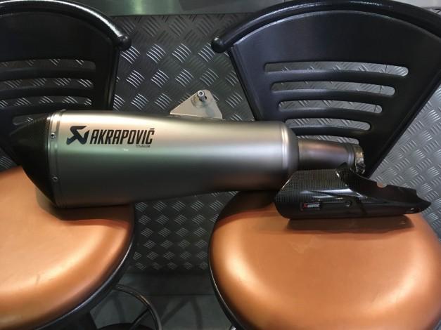 BMW R1200 RT AKRAPOVIC TITANIUM UITLAAT